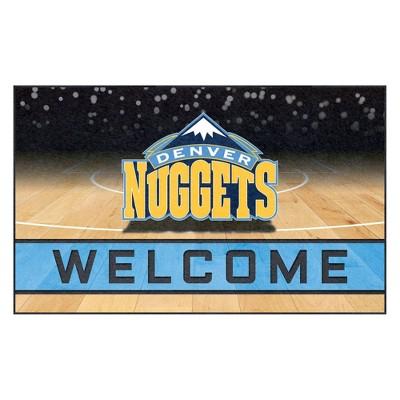 """NBA Denver Nuggets Crumb Rubber Door Mat 18""""x30"""""""