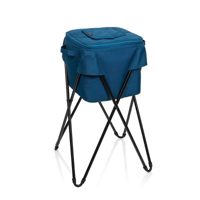 Picnic Time Camping 33.75qt Party Cooler with Stand