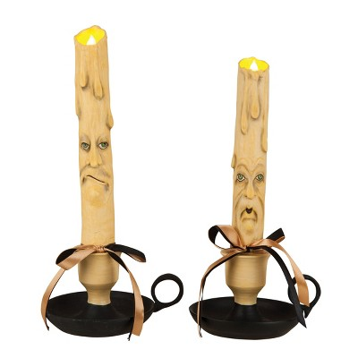 Gallerie II Frick & Frack LED Candlesticks Set of 2