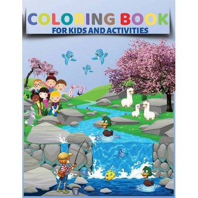 Coloring Book For Kids And Activities - By Books For You To Smile  (paperback) : Target