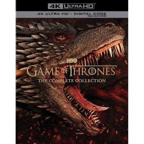 Game of Thrones: The Complete Series Collection (4K/UHD)(2020) - image 1 of 1
