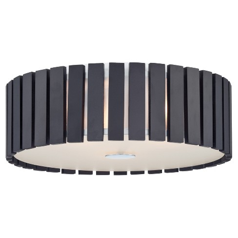 Maxwell Flush Mount Wall Lights - Espresso - Lite Source - image 1 of 2