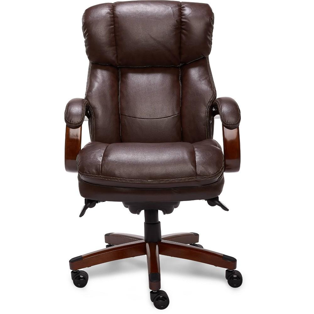 Image of Big & Tall Executive Chair Brown - La-Z-Boy, Black