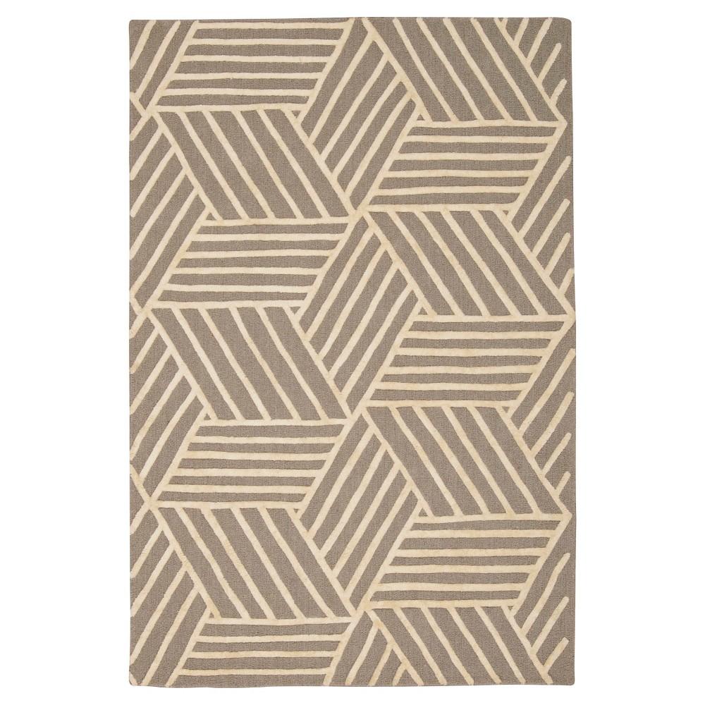 Natural Fiber Rug - Natural/Brown - (2'6x10') - Safavieh, Silver/Ivory