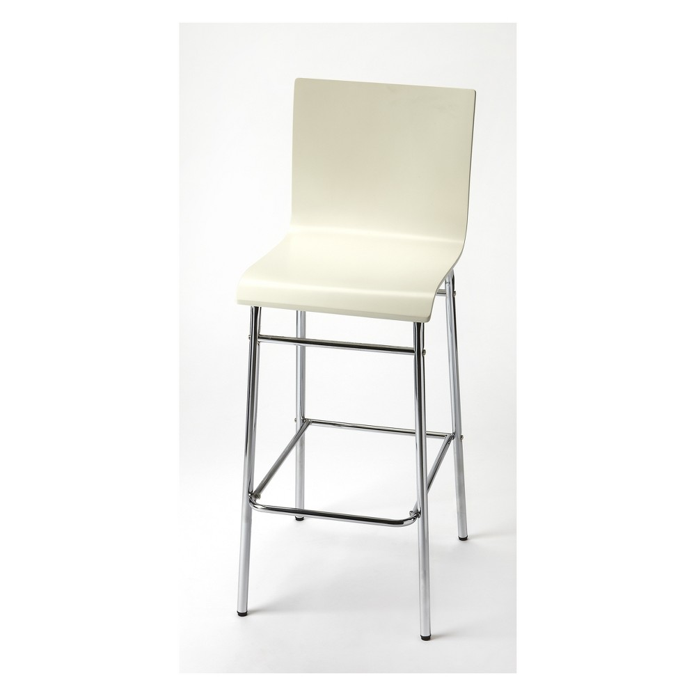 Butler Specialty Watney Bar Stool White