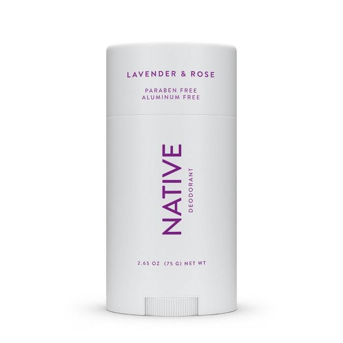 Native Lavendar & Rose Deodorant For Women - 2.65oz : Target