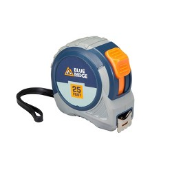 "Blue Ridge Tools 25"" Tape Measure Rulers and Measuring Tools"