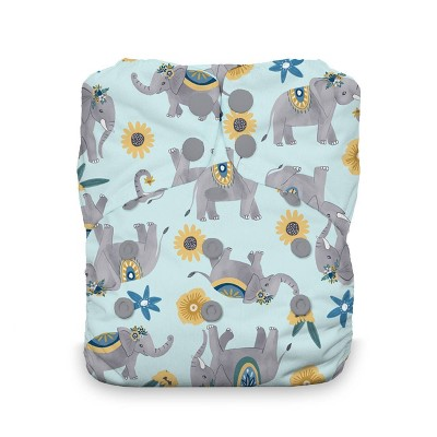Thirsties Snap One Size All In One Reusable Diaper Cover - Elefantabulous
