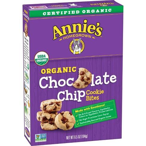 Annie's Organic Chocolate Chip Cookie Bites - 6.5oz - image 1 of 3