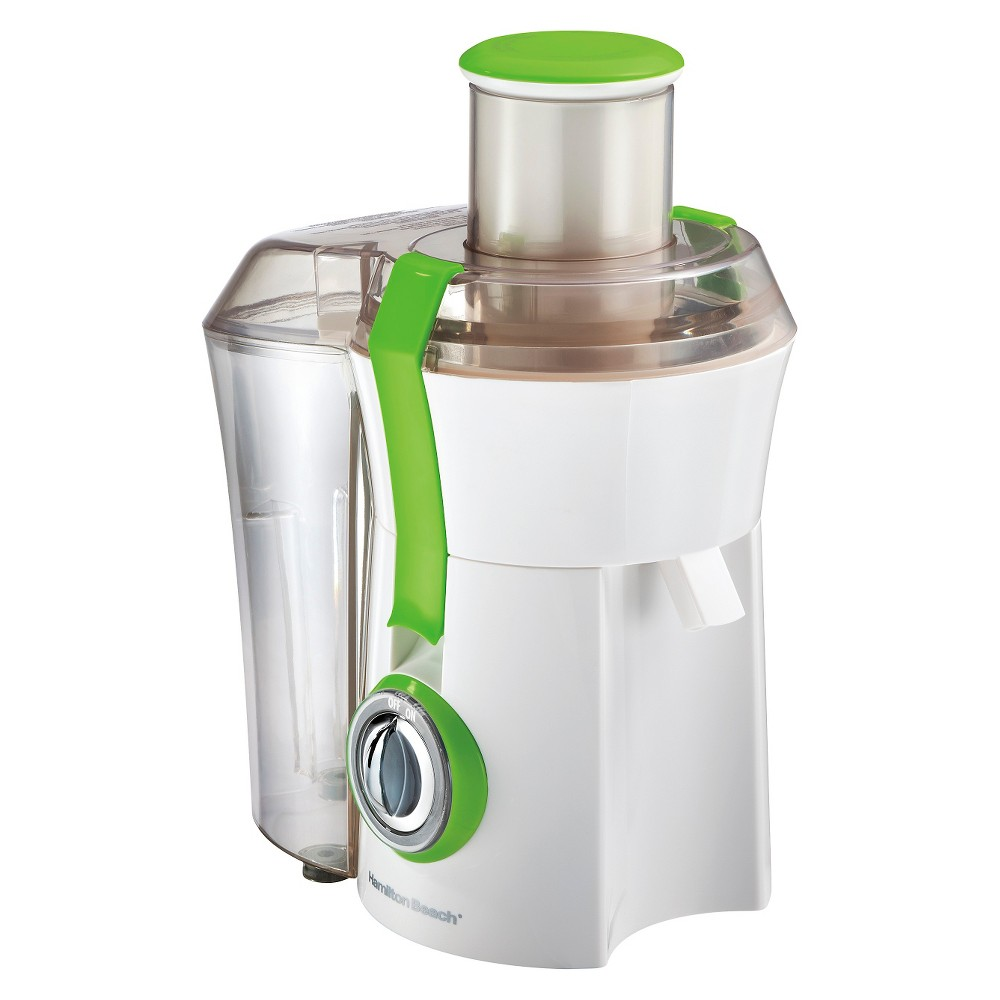 Hamilton Beach Big Mouth Juice Extractor – 67602, White/Green 15744790