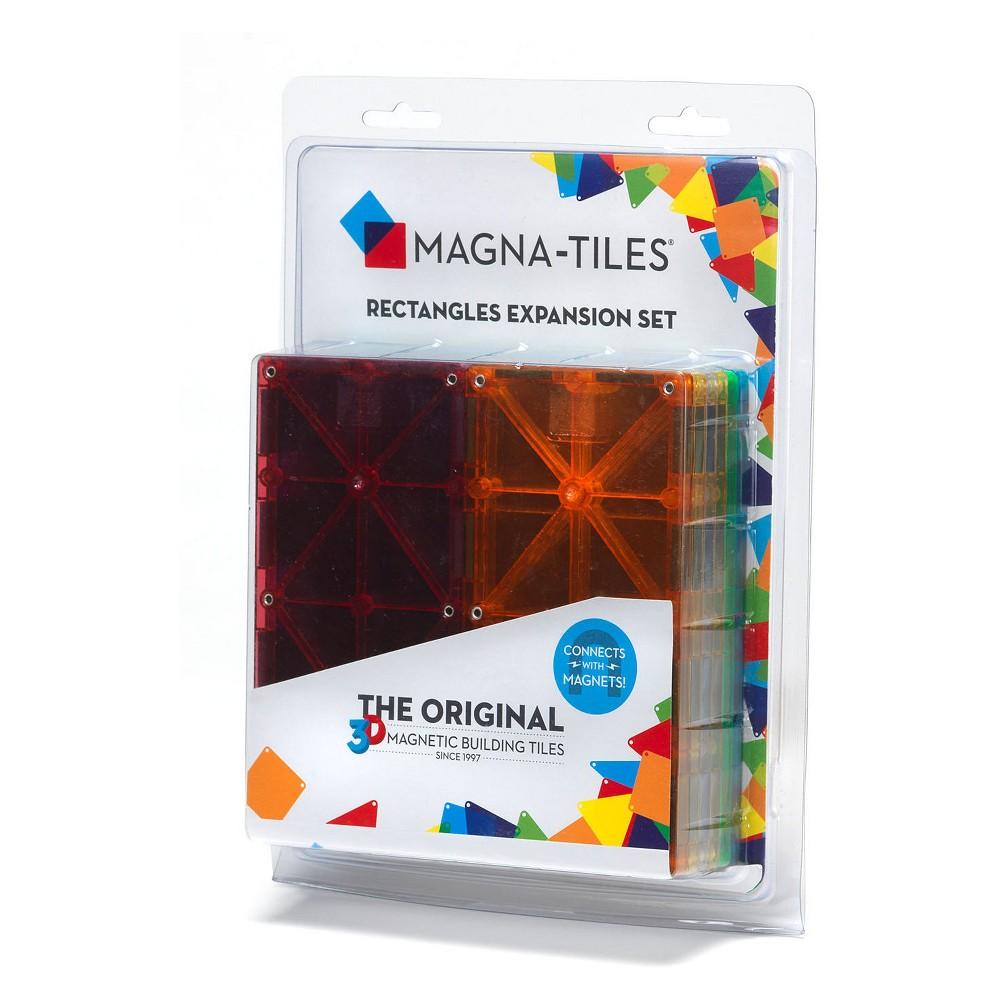 Magna-Tiles Rectangles 8pc Expansion Set