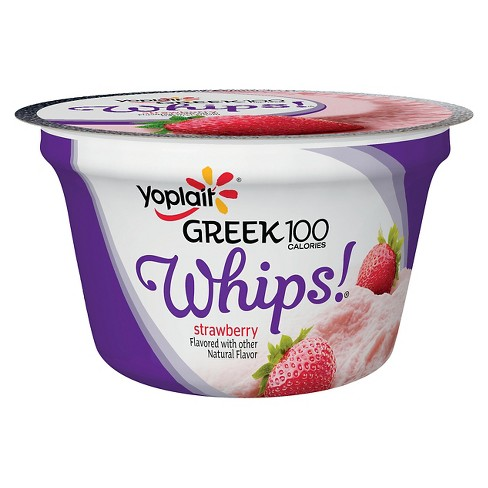 Yoplait Greek Strawberry Yogurt - 4oz - image 1 of 1