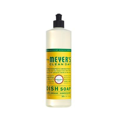 Mrs. Meyer's Clean Day Honeysuckle Scent Liquid Dish Soap - 16oz