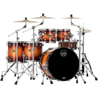 Mapex Saturn Evolution Workhorse Birch 5-Piece Shell Pack with 22 in. Bass Drum Exotic Sunburst