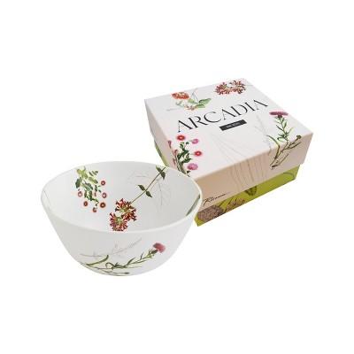 40oz Porcelain Arcadia Salad Bowl - Rosanna