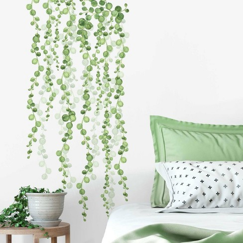 String of Pearls Vine Peel and Stick Wall Decal - RoomMates - image 1 of 4