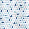 Mod Triangle Shower Curtain Blue -  Allure Home Creation - image 2 of 3