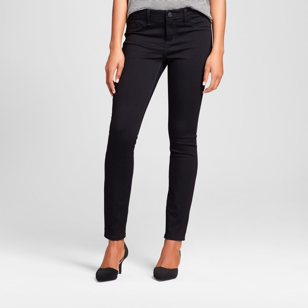 Women's Modern Fit Leggings Jeans - Crafted by Lee Black 0