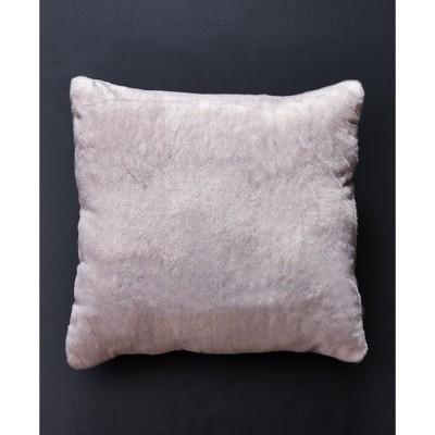 """De Moocci Luxury Super Soft Faux Fox Fur Decoration Pillow With Insert 20""""x20"""""""