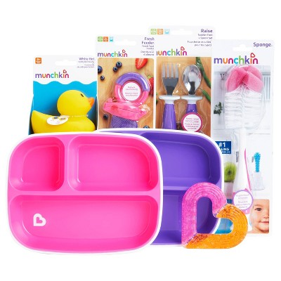 Munchkin New Beginnings Baby Gift Basket - Pink