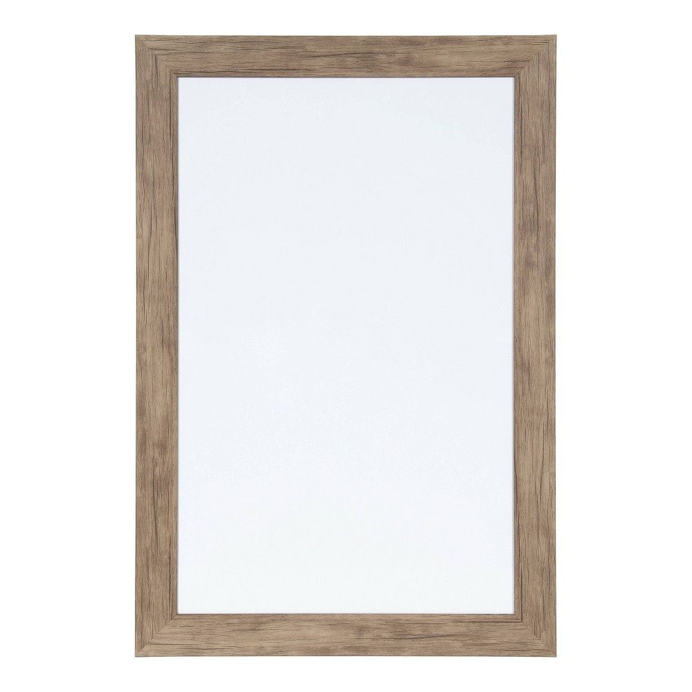 "Image of ""15"""" x 24"""" Beatrice Magnetic Dry Erase Rustic Brown - DesignOvation"""