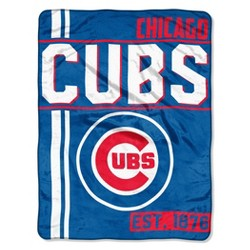 MLB Chicago Cubs Micro Fleece Throw Blanket