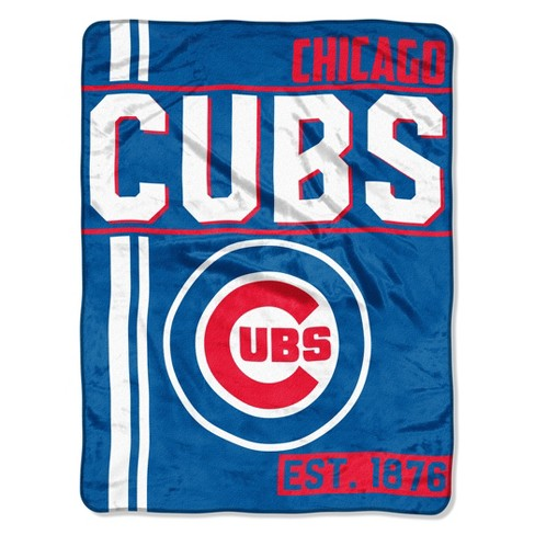 MLB Chicago Cubs Micro Fleece Throw Blanket - image 1 of 2