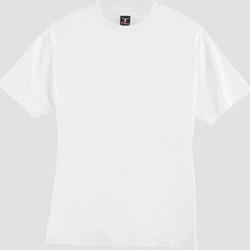 abf25598 Hanes Men's Tall Short Sleeve Beefy T-Shirt - White 2XLT : Target