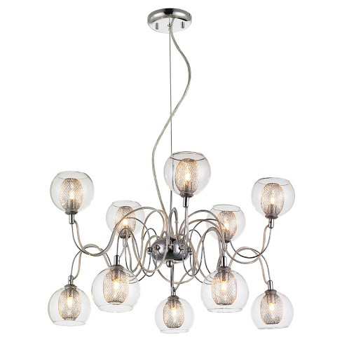 "Z - Lite Auge Chandelier (""16'') Chrome - image 1 of 1"