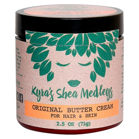 Kyra's Shea Medleys Original Butter Cream for Hair & Skin - 2.5 oz - image 1 of 3