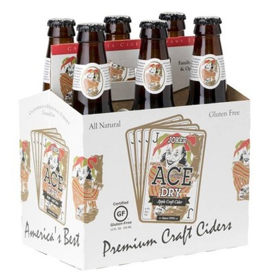 ACE Joker Dry Hard Cider - 6pk/12 fl oz Bottles