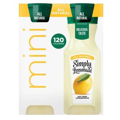 Mini Simply Lemonade - 4ct/8 fl oz Bottles