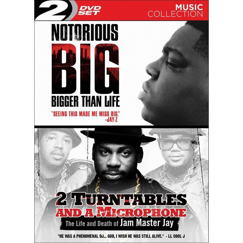 Notorious B.I.G.: Bigger Than Life/2 Turntables and a Microphone (2 Discs) (dvd_video) Notorious B.I.G.: Bigger Than Life/2 Turntables and a Microphone (2 Discs) (dvd_video)