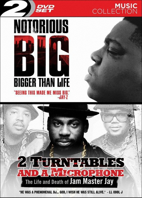 Notorious B.I.G.: Bigger Than Life/2 Turntables and a Microphone (2 Discs) (dvd_video) - image 1 of 1
