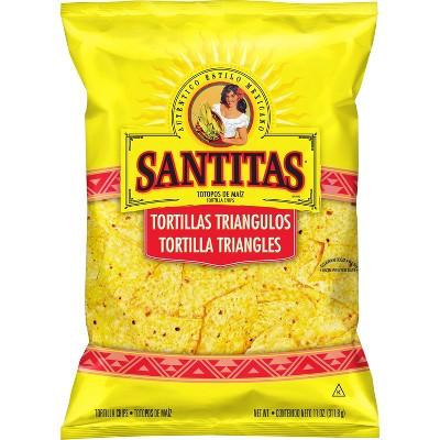 Tortilla & Corn Chips: Santitas Yellow Corn Tortilla Chips