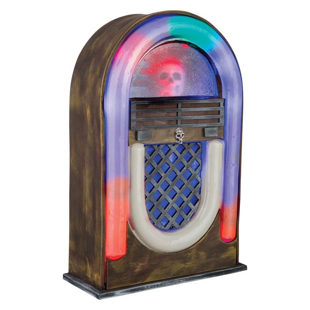 13 Halloween Jukebox with Sound, Multi-Colored