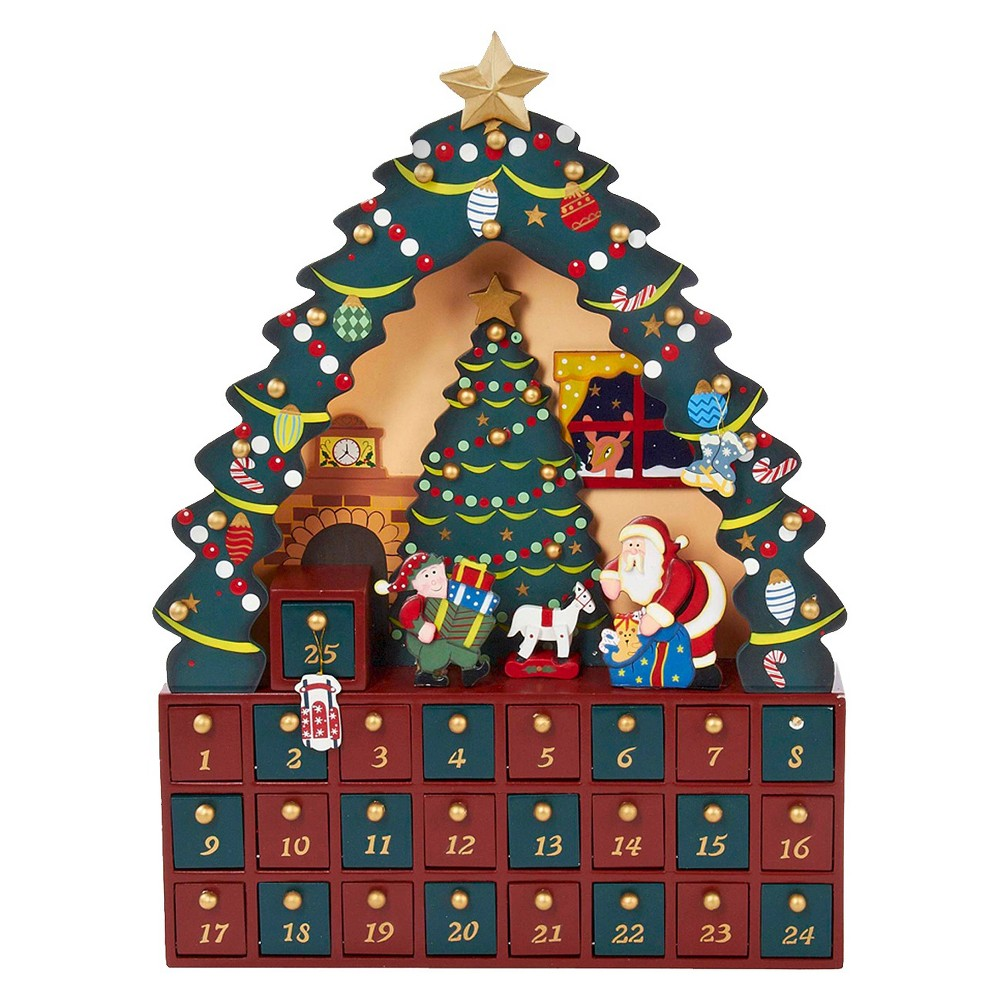 Image of Christmas Tree 24-Piece Christmas Advent Calendar