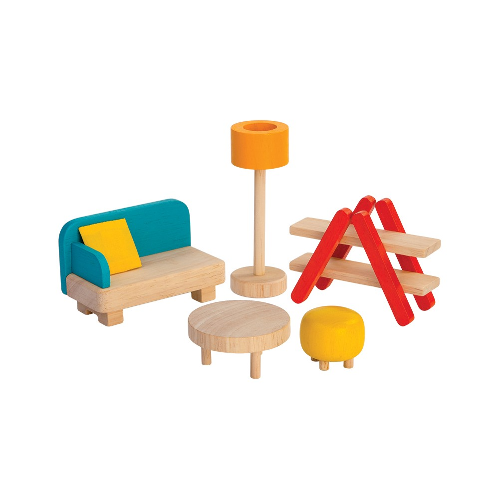 PlanToys Living Room, doll furniture