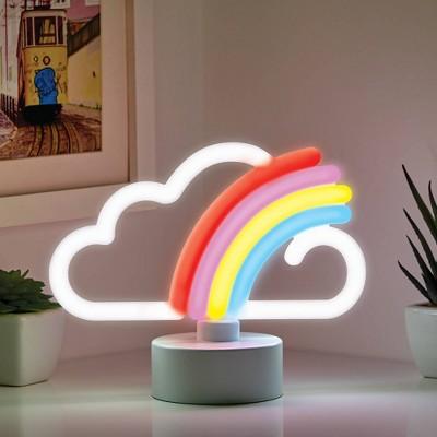 Mini LED Rainbow Novelty Table Lamp - West & Arrow