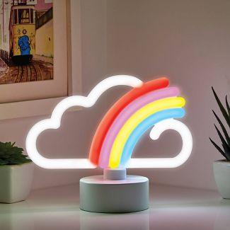 Mini LED Novelty Table Lamp Rainbow - West & Arrow