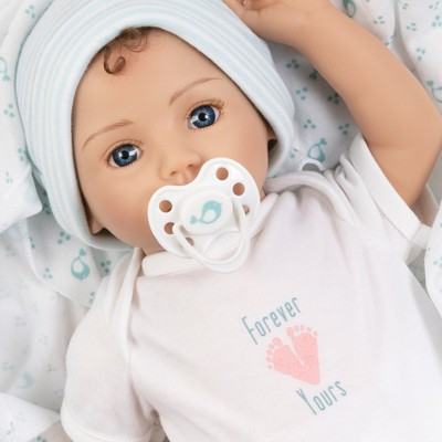 Paradise Galleries Realistic Newborn Doll - Forever Yours Trust, 7-Piece Reborn Doll Gift Set with Magnetic Pacifier