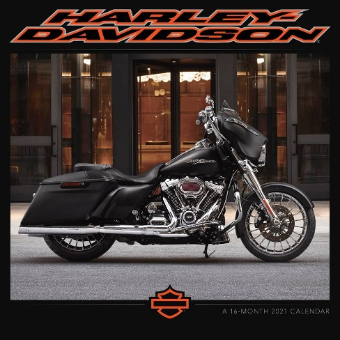 Harley Davidson Calendar 2021 2021 Wall Calendar 12