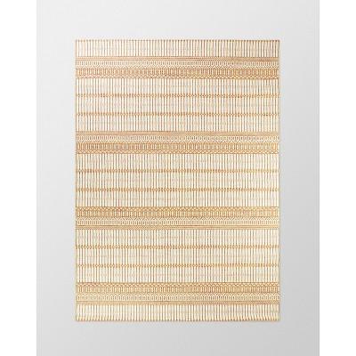 7' x 10' Woven Outdoor Rug Orange - Threshold™