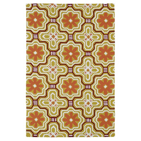 Rugs 3'X5' Kaleen Rugs Gold - image 1 of 3