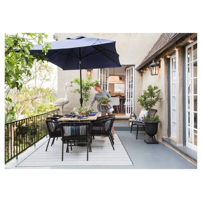 Modern Outdoor Patio styled by Emily Henderson