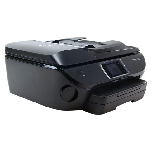 HP OfficeJet 5740 Wireless All-in-One Photo Printer with Mobile Printing -  Black (Pre-Owned/Certified - No Ink Included)