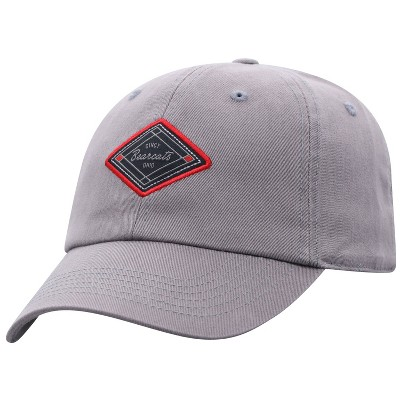NCAA Cincinnati Bearcats Men's Gray Washed Relaxed Fit Hat