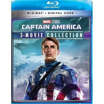 Captain America: 3-Movie Collection (Blu-ray + Digital)