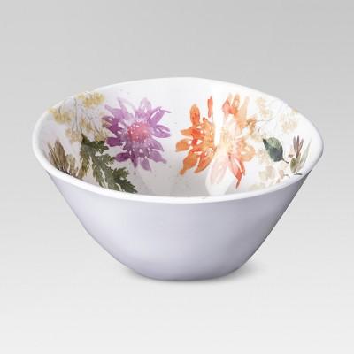 Plastic Floral Serving Bowl 96oz - Threshold™
