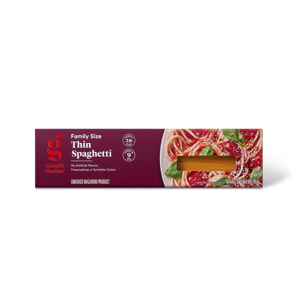 Thin Spaghetti 32oz - Good & Gather